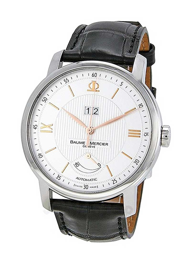 Baume & Mercier Classima Executives Mens 42mm Automatic in Steel