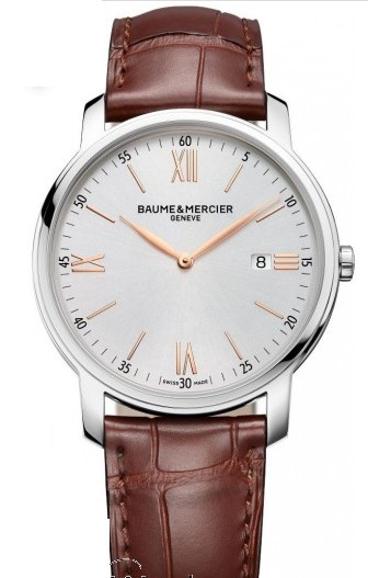 Baume & Mercier Classima Executives 42mm Quartz in Steel