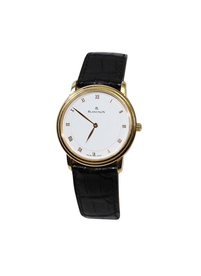 Blancpain Villeret Ultra Slim  34mm Automatic in Rose Gold