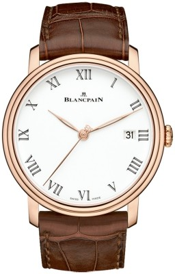 Blancpain Villeret 8 Days Automatic in Rose Gold