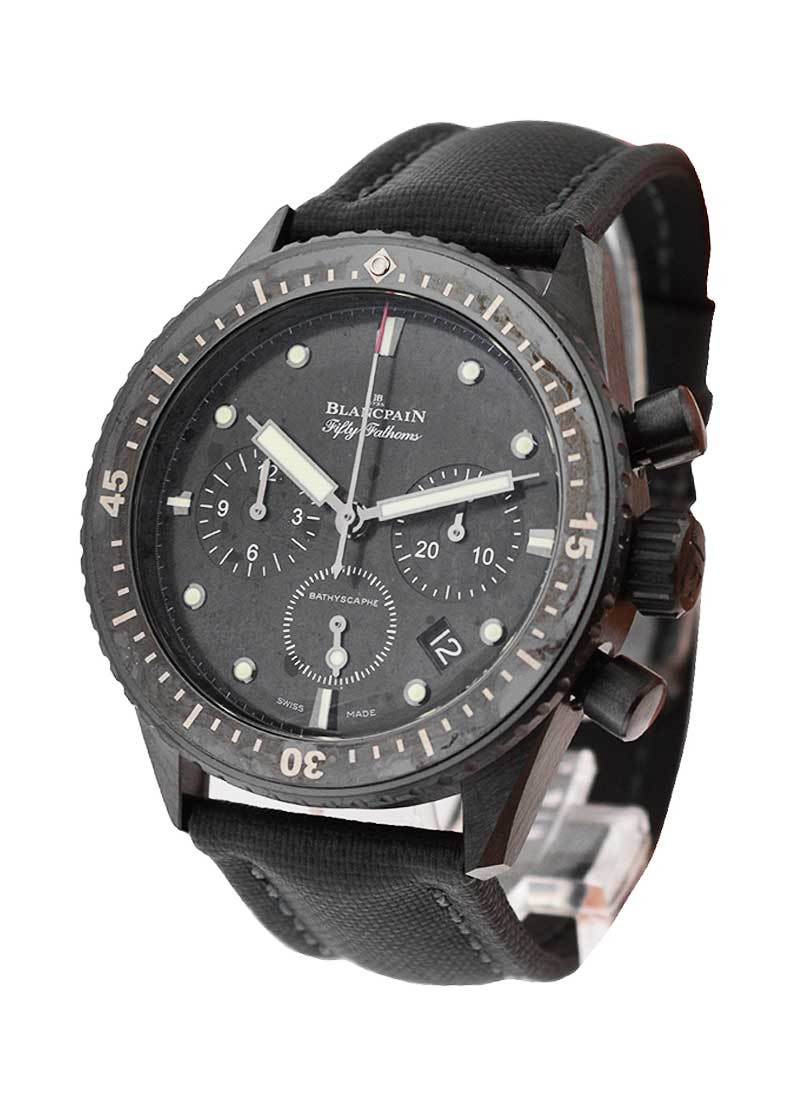 Blancpain Fifty Fathoms Bathyscaphe Flyback Chronograph in Black Ceramic