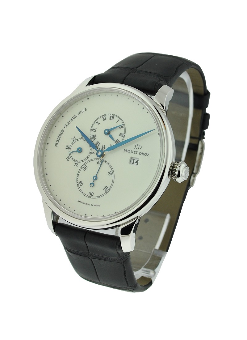 Jaquet Droz Majestic Beijing Time Zone in Platinum   Limited to 8pcs