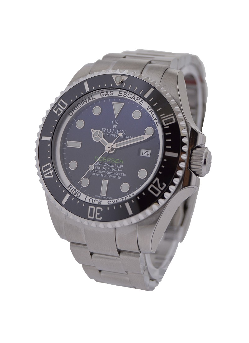 Rolex Used Sea Dweller   Deep Sea Blue