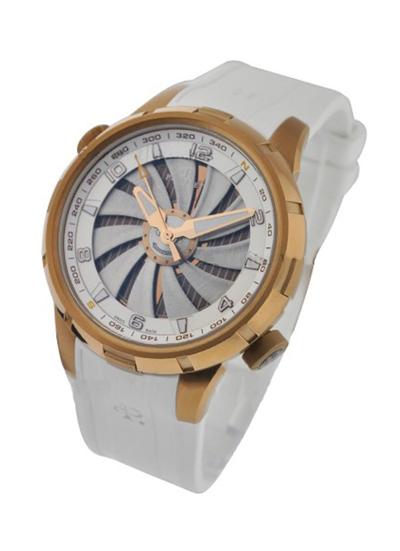 Perrelet Turbine Yacht Mens 47mm Automatic in Bronze PVD Steel