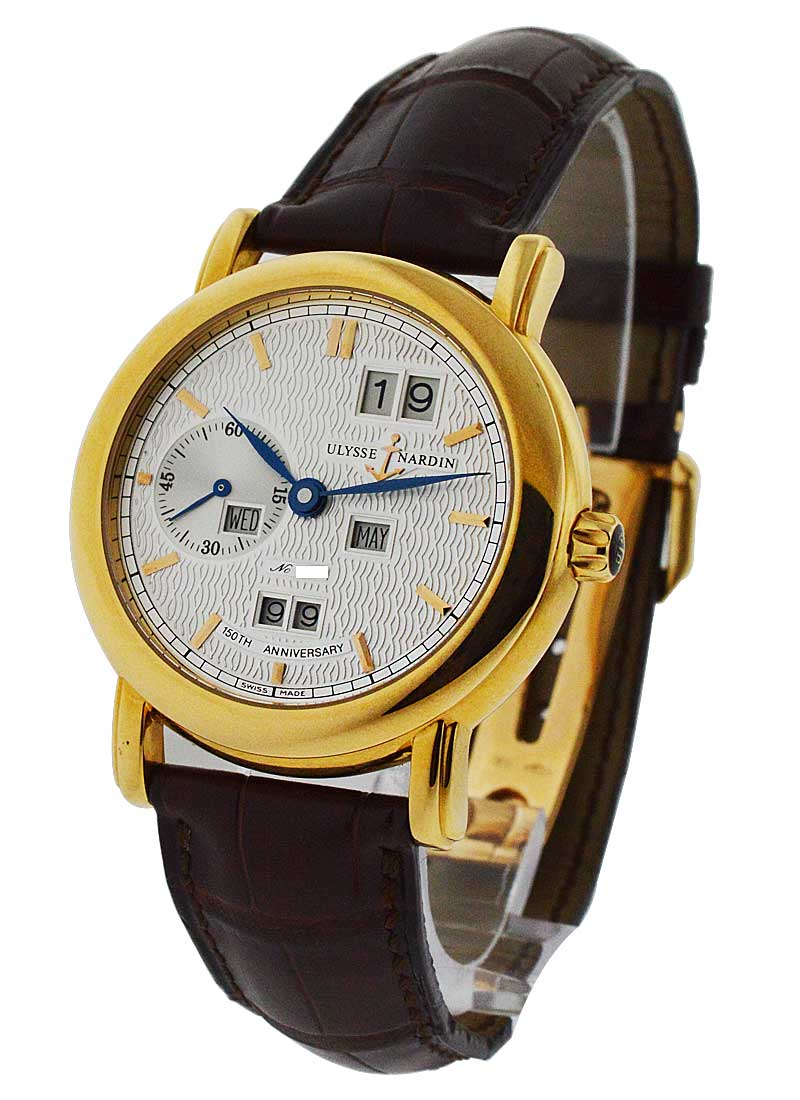 Ulysse Nardin Ludwig 150th Anniversary Perpetual Calendar in Yellow Gold