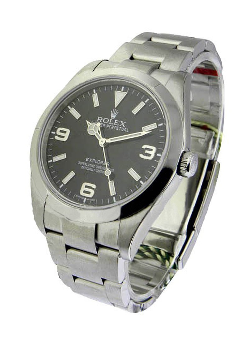 Rolex Used Explorer I in Steel