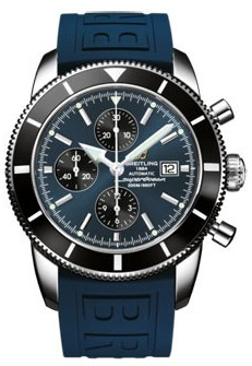Breitling Superocean Chronographe Heritage in Steel with Black Bezel