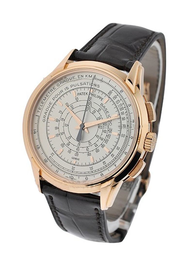 Patek Philippe 175 Anniversary Multi scale Chronograph 5975R in Rose Gold