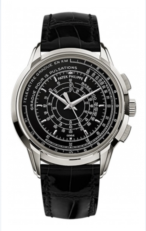 Patek Philippe Multi-scale Chronograph 5975P in Platinum