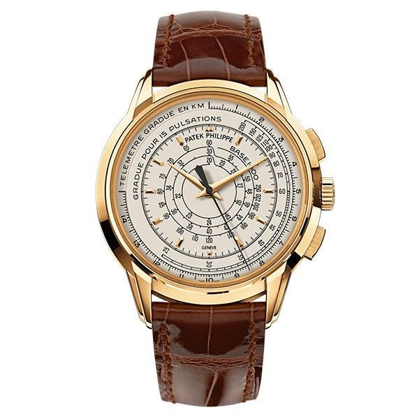 Patek Philippe Multi-scale Chronograph 5975J in Yellow Gold