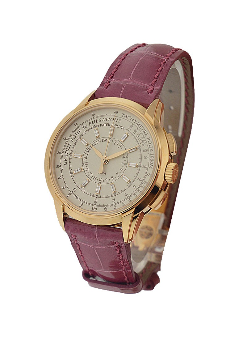 Patek Philippe Ladies Multi-Scale Chronograph 4675R