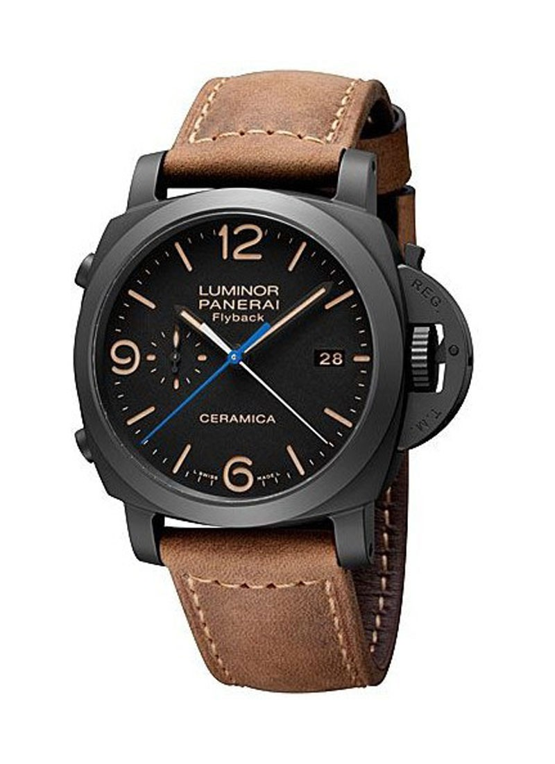 Panerai PAM 580 - Luminor 1950 3 Days Chrono Flyback in Black Ceramic