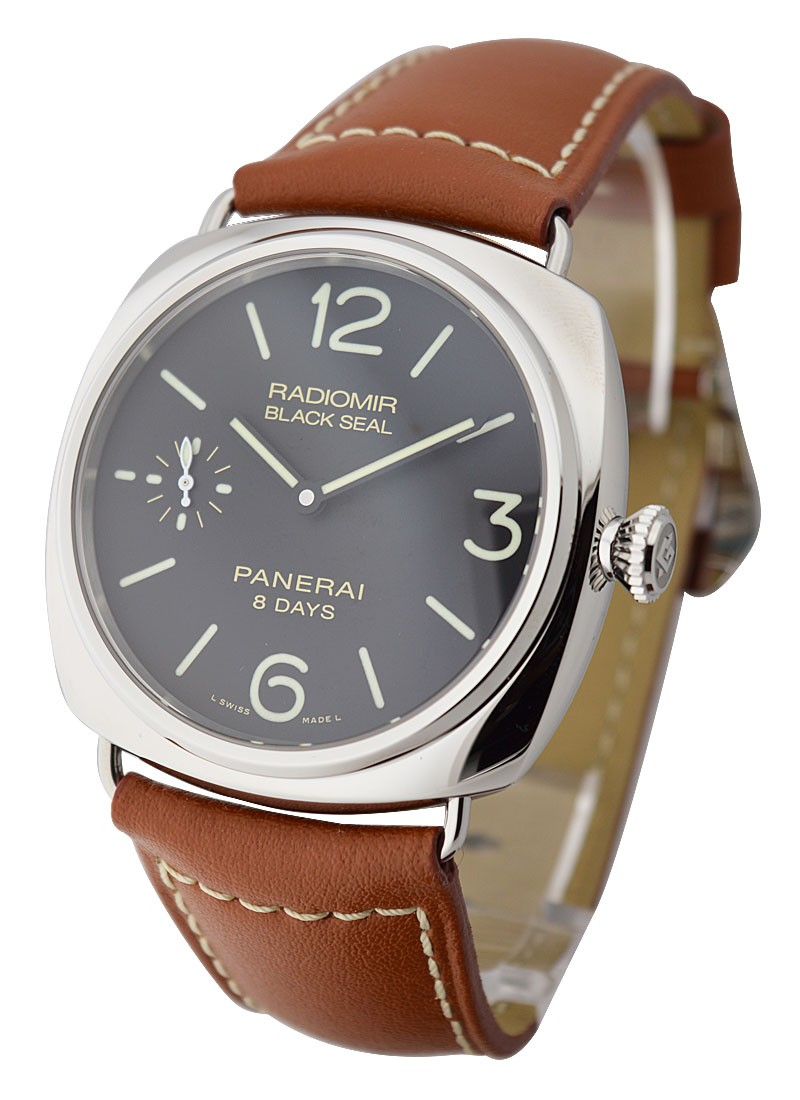 Panerai PAM 609   Black Seal Radiomir 8 Days