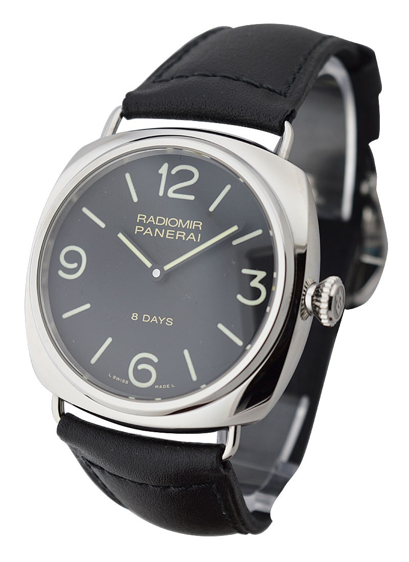 Panerai PAM 610 - Radiomir 8 Days in Steel