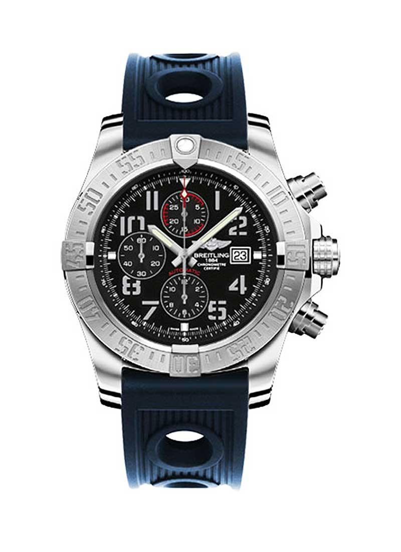 Breitling Super Avenger II Mens Automatic Chronograph - Steel