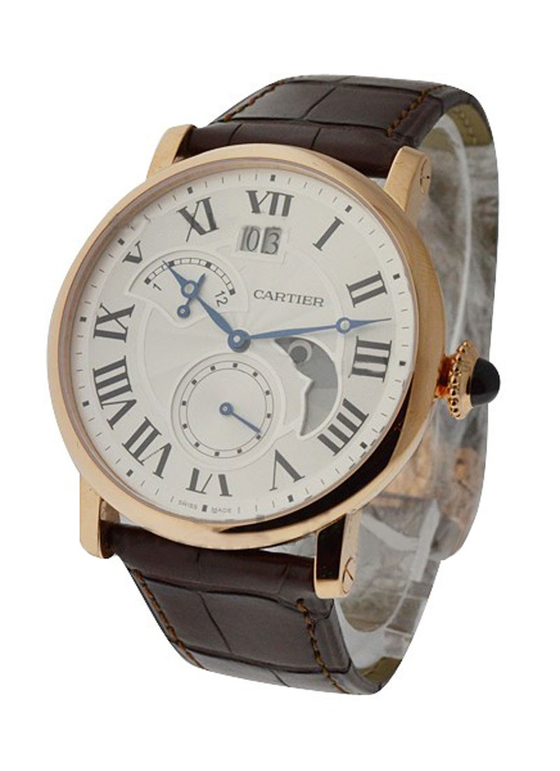 Cartier Rotonde de Cartier with Moon Phase, Big Date, and Power Reserve