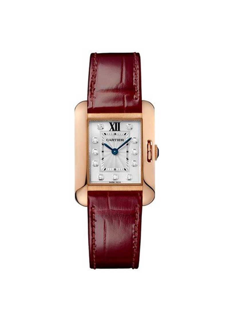 Cartier Tank Anglaise Small in Rose Gold