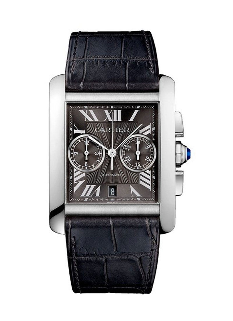 Cartier Tank MC Chronograph in Steel