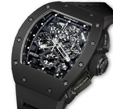 Richard Mille RM 011 Flyback Chronograph Black Phantom   Limited to 50