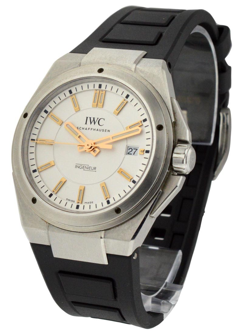 IWC Ingenieur 40mm Automatic on Rubber Strap