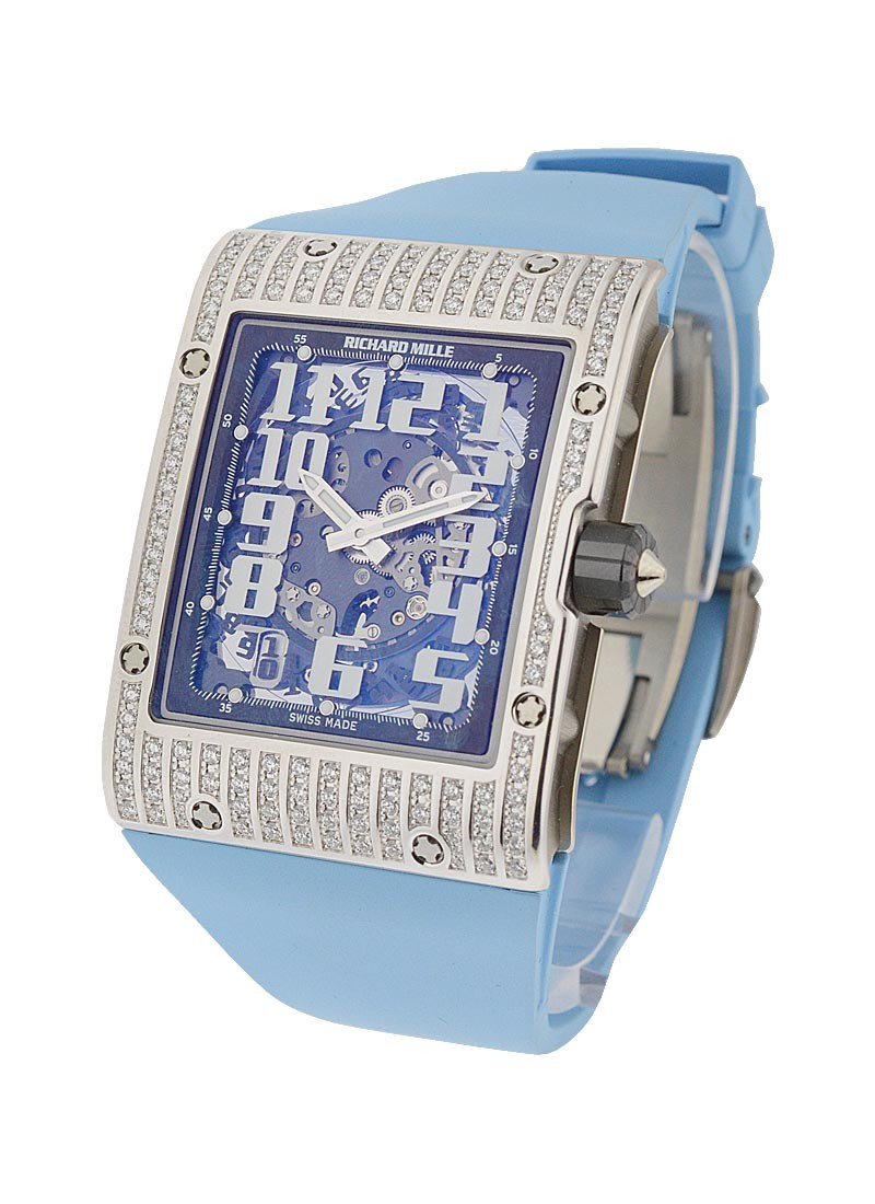 Richard Mille RM016 Automatic in White Gold With Diamond Case