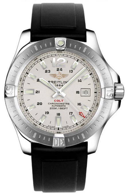Breitling Colt Mens 44mm Automatic in Steel