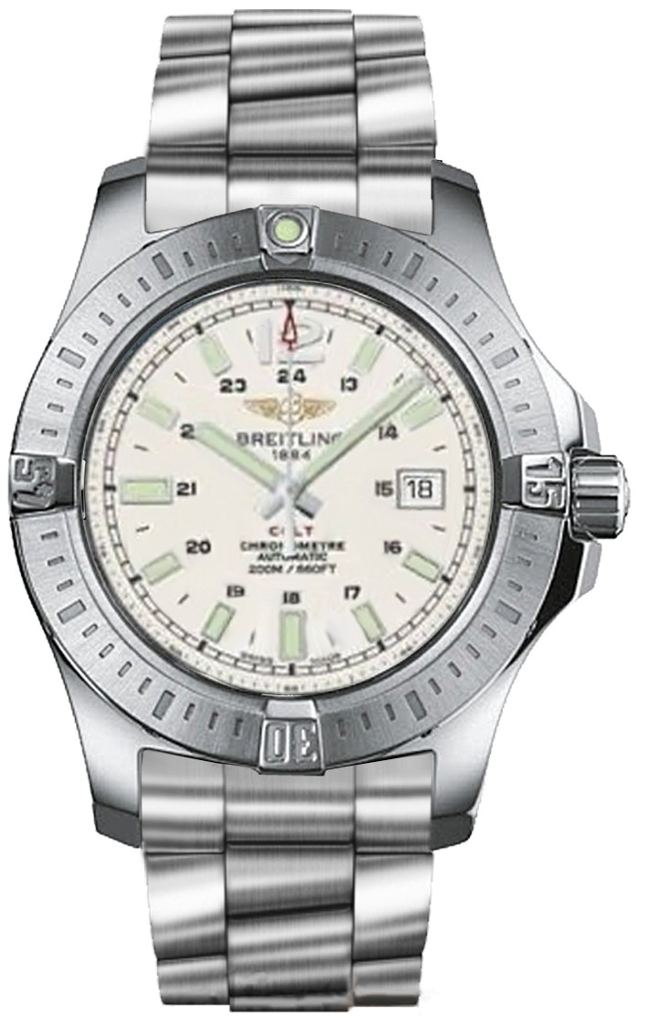 Breitling Colt Automatic in Steel
