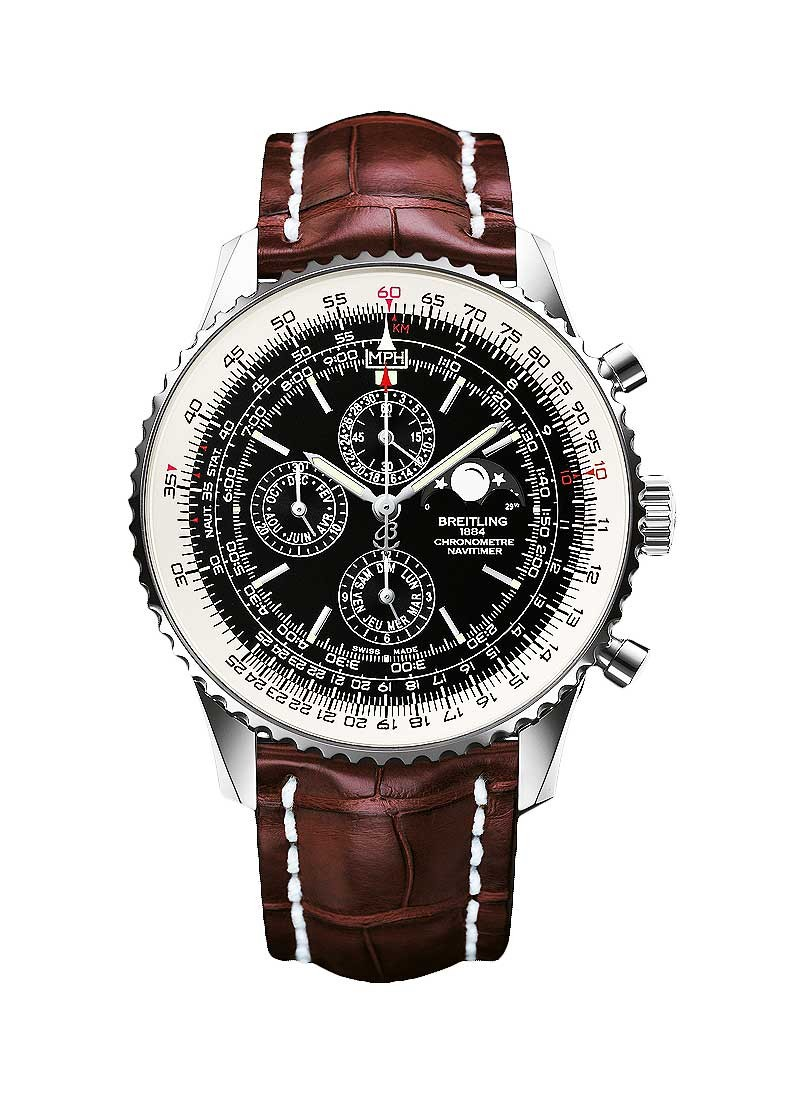 Breitling Navitimer 1461 Mens 48mm Automatic Chronograph in Steel