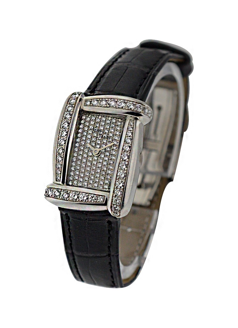 Henry Dunay Sabi in White Gold with Diamond Case