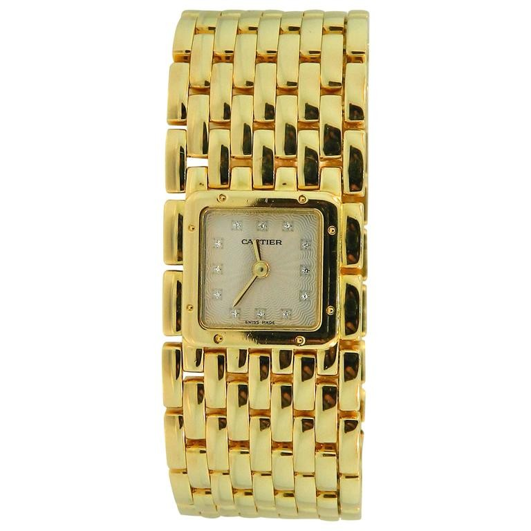Cartier Panthere Ruban in Yellow Gold