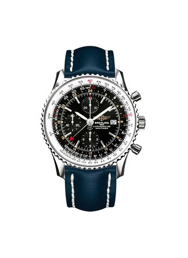 Breitling Navitimer World Chronograph Men's in Steel