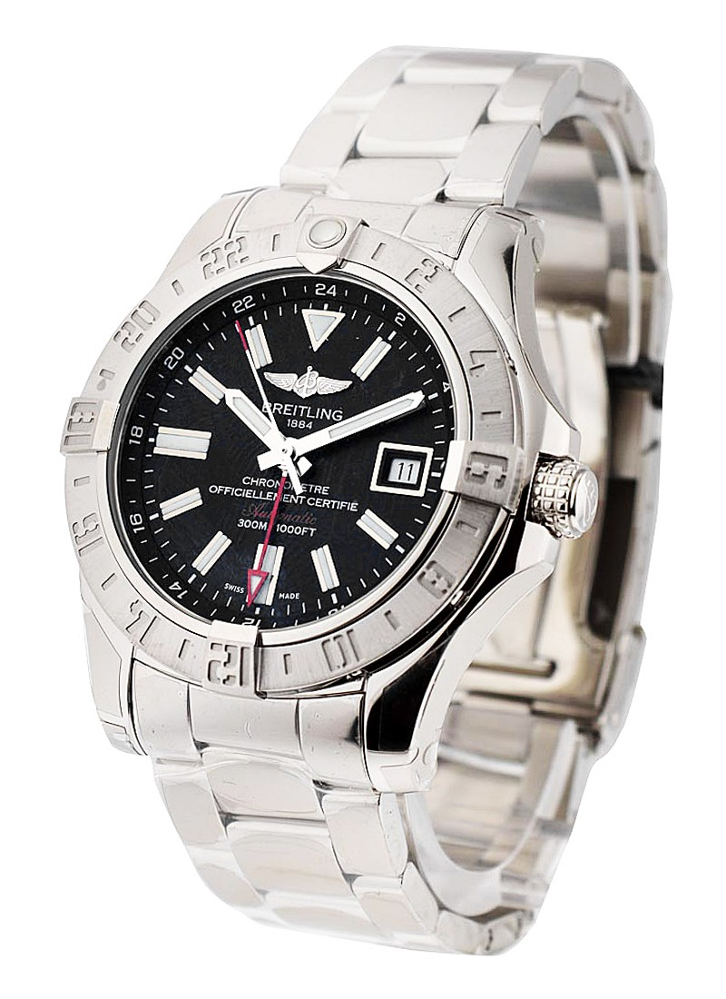 Breitling Avenger II GMT Automatic in Steel