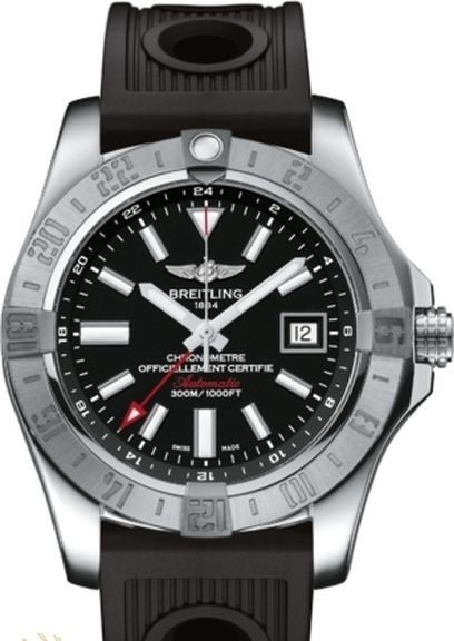 Breitling Avenger GMT II Men's Automatic in Steel