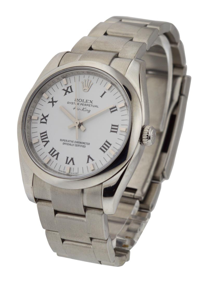 Rolex Used Airking 114200 in Steel