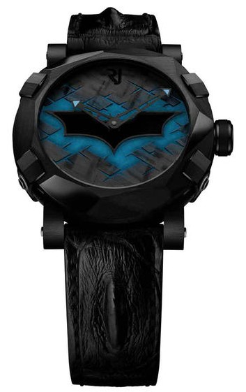 Romain Jerome Batman DNA in Black PVD Steel - Limited Edition of 75
