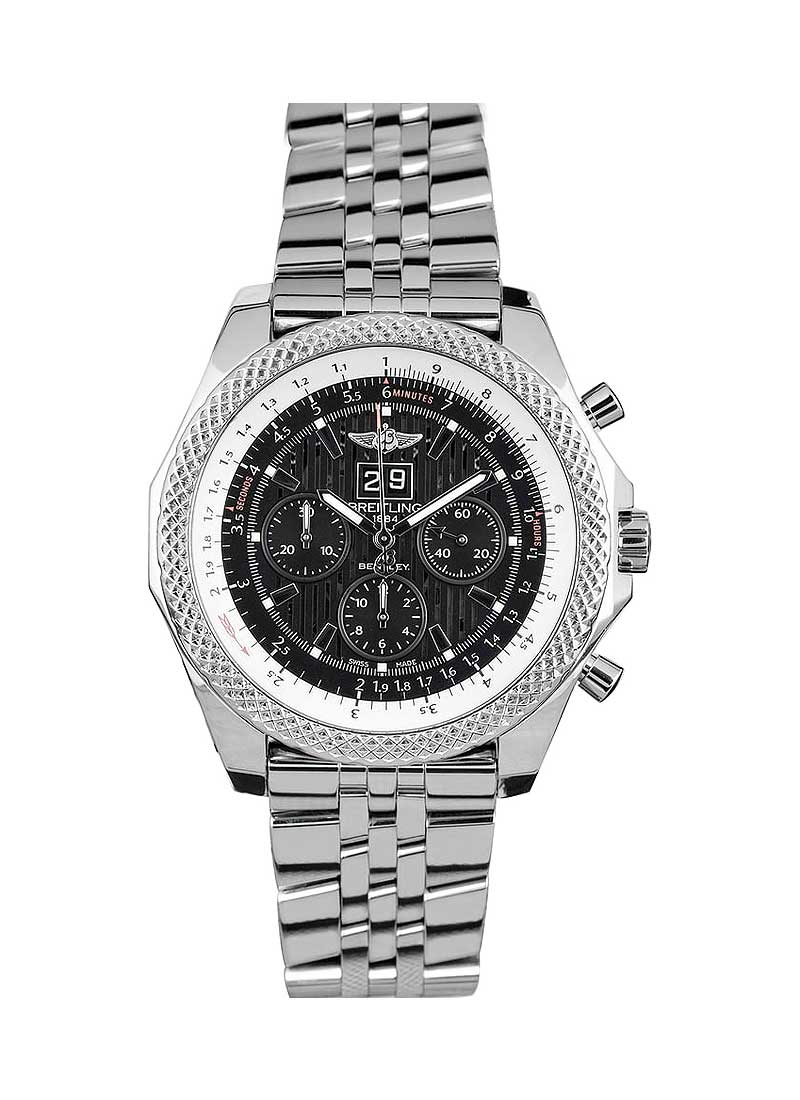 Breitling Bentley 6.75 Mens Automatic Chronograph in Steel