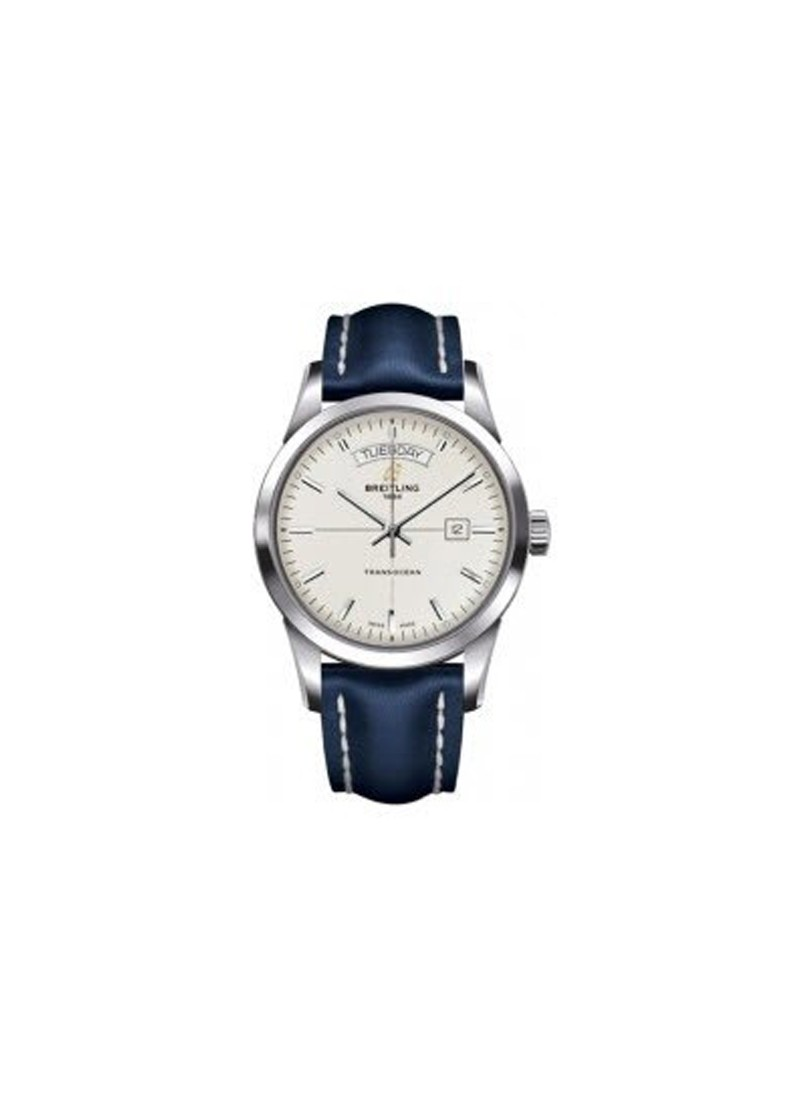 Breitling Transocean Day-Date Series and Automatic in Steel