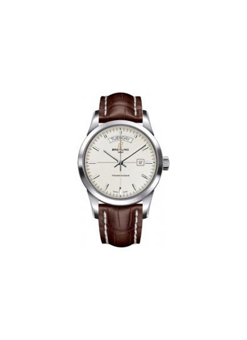 Breitling Transocean Day Date Series and Automatic in Steel
