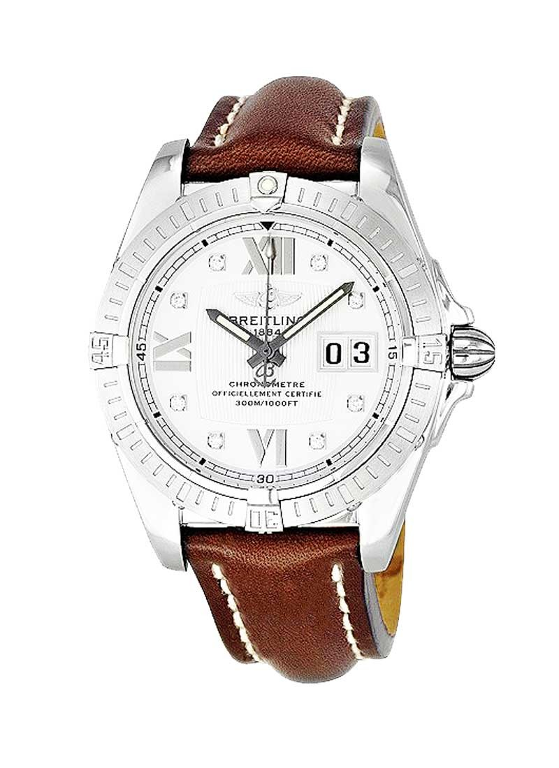 Breitling Cockpit Windrider Mens 41mm Automatic in Steel