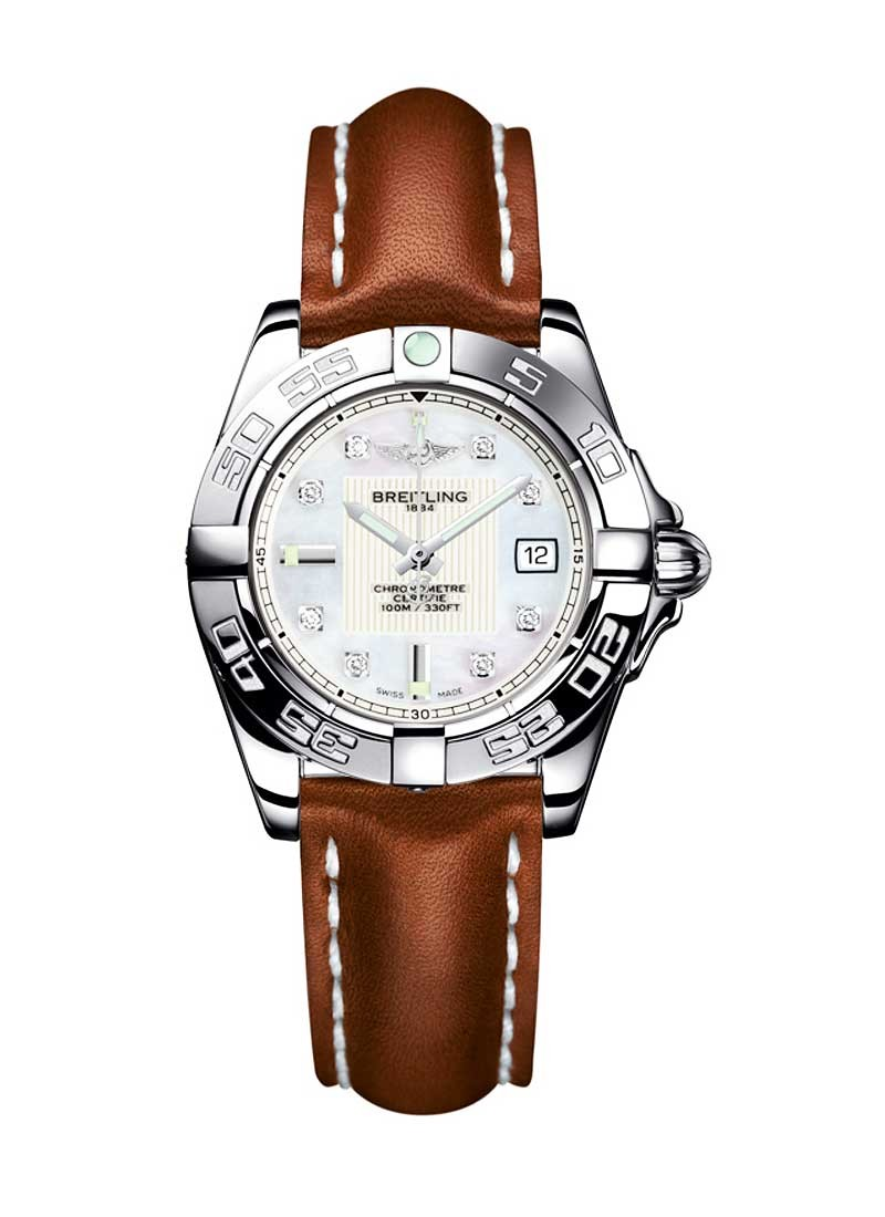 Breitling Galactic 32 Ladies' Quartz in Steel