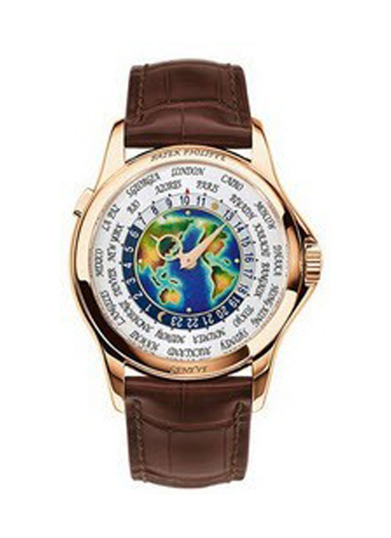 Patek Philippe World Time Ref 5131R 001 New Version in Rose Gold