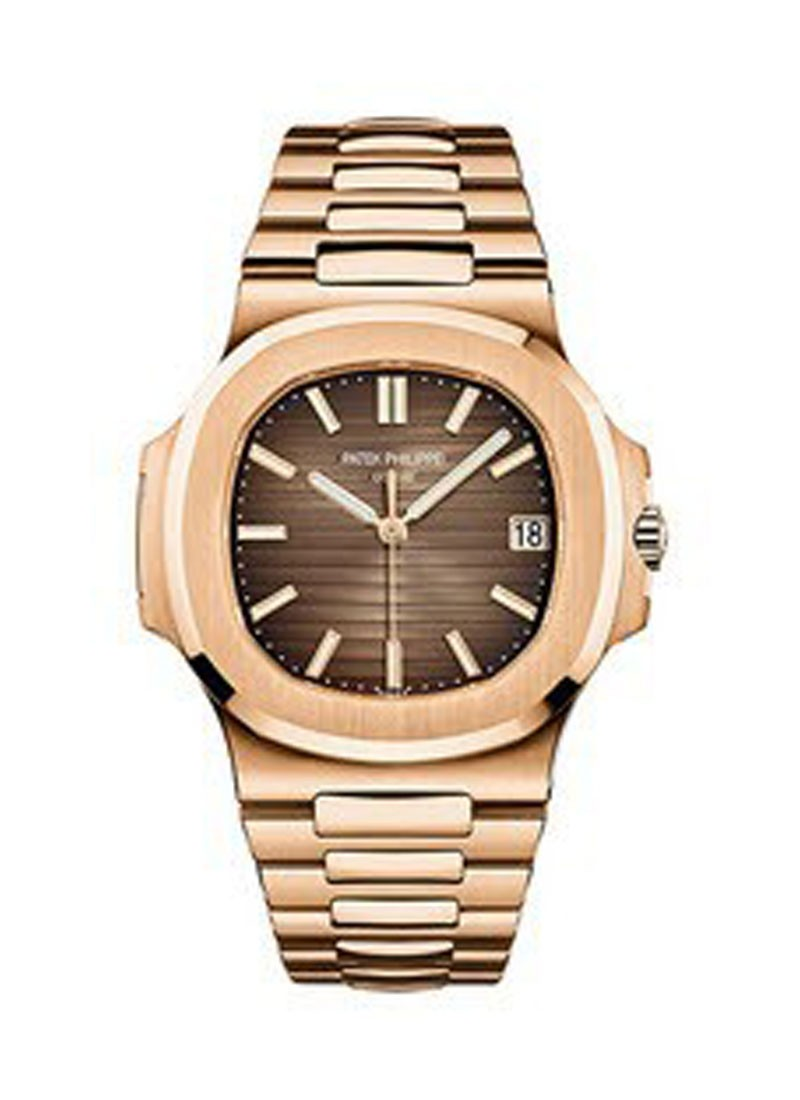 Patek Philippe Jumbo Nautlilus 5711 in Rose Gold
