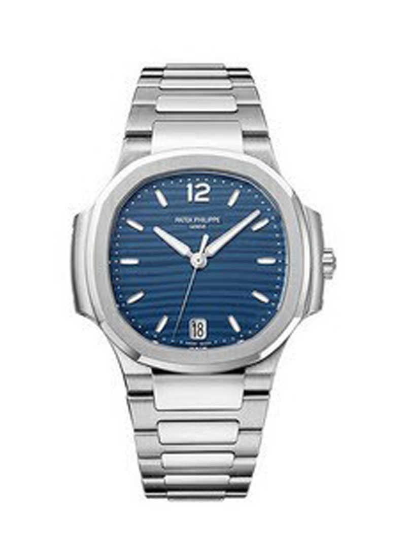 Patek Philippe Nautilus Ladies 7118 Automatic in Steel with Diamond Bezel