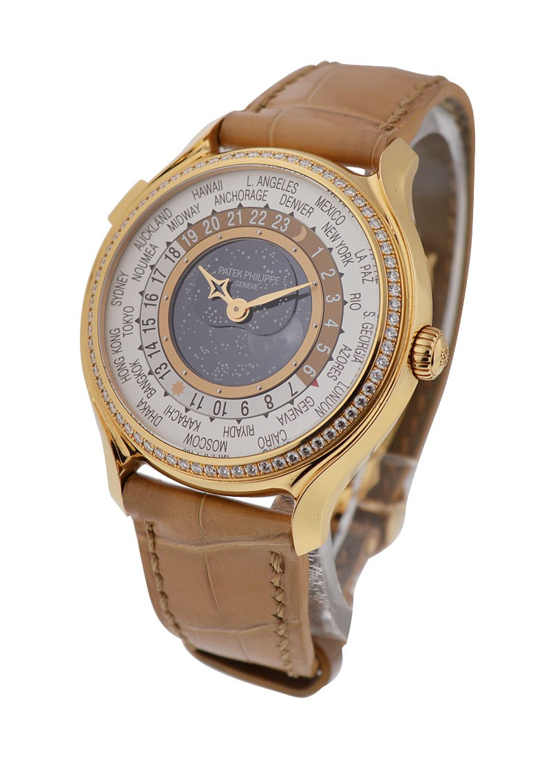 Patek Philippe Complications Ladies 175th Anniversary Edition World Time - Rose Gold