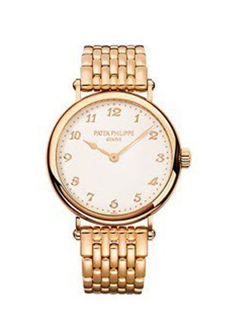 Patek Philippe Calatrava Ladies 7200 34mm Automatic in Rose Gold