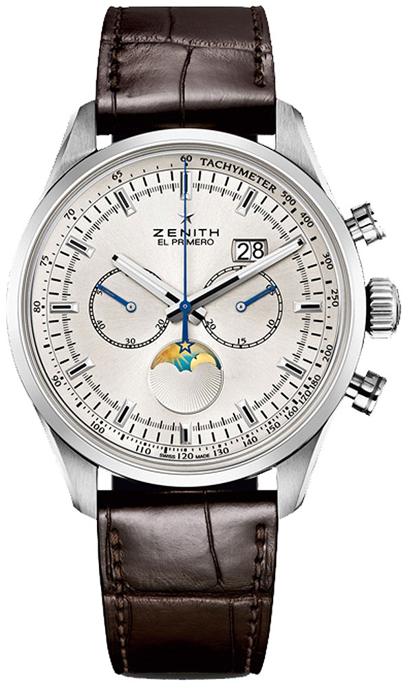 Zenith Chronomaster Open Grande Date Moonphase in Steel