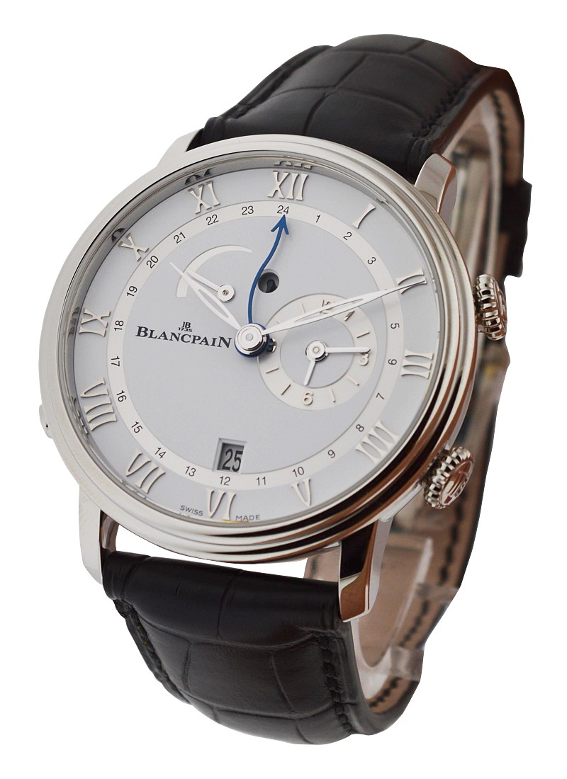 Blancpain Villeret Reveil GMT Automatic in Steel