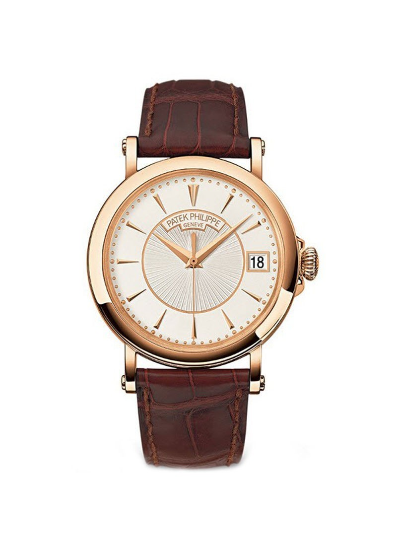 Patek Philippe Calatrava Officers Watch 5153R in Rose Gold