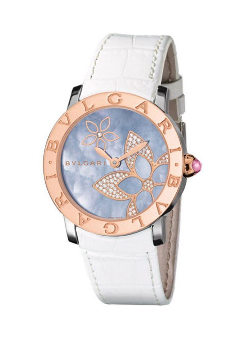 Bvlgari Classic Ladies 33mm Automatic 2 Tone