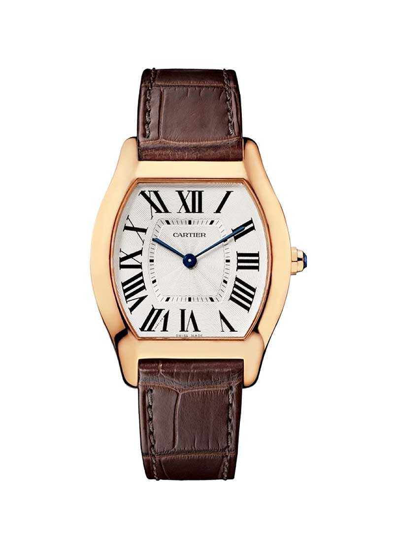 Cartier Tortue Ladies Medium Manual in Rose Gold